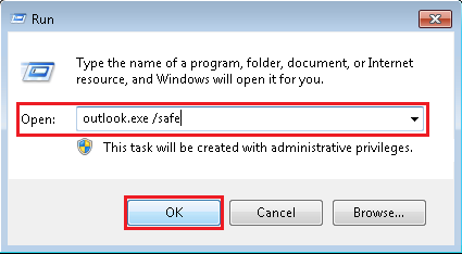 Solution to Outlook cannot start or open error in MS Outlook